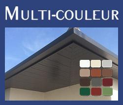 Gouttière aluminium multi couleurs