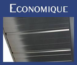 Gouttière aluminium résistant économique